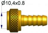 Вращающийся ниппель для  шланга 7х13  R-0987-2